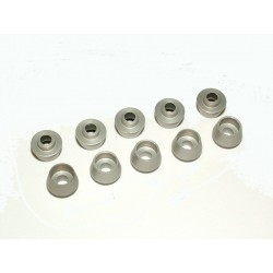 TREX 600/700 - M3 Shouldered Screw Caps - SILVER