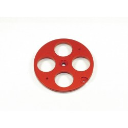 45mm Pull-Pull Cable Wheel - JR - RED