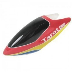 Tarot 500 Fiberglass Canopy / Red