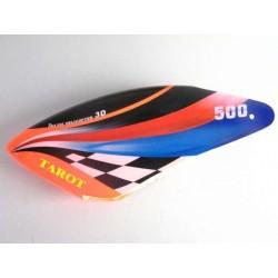 Tarot 500 Fiberglass Canopy / magic hood - orange