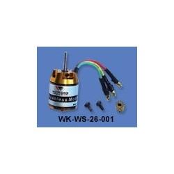 Walkera Outer-rotor HELI motor (WK-WS-26-001) 3500KV