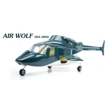 Air Wolf Scale Cabin for Belt-CP (Blue)