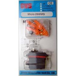 GWS Micro Servo - JR Connector (GWSMICRO/2BBMG/J)
