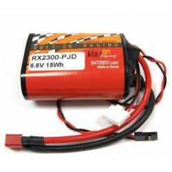 PQ-2300RX 2S1P 6.6V (PQ, JR, Deans)Lithium Ion/A123 Rx Pack