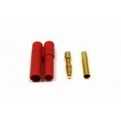 HXT 4mm Gold Connector w/ Protector