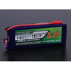 Turnigy nano-tech 1500mAh 2S1P 20~40C Lipo Receiver Pack