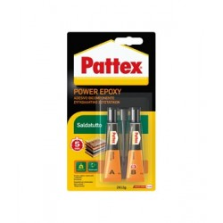 Pattex POWER EPOXY 5 MIN Saldatutto (TRANSPARENT) 24g