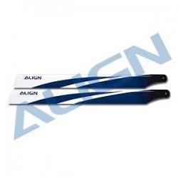 ALIGN 360 Carbon Fiber Blades Blue - HD360B