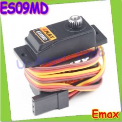 EMAX ES09MD Dual-bearing Metal Digital Servo