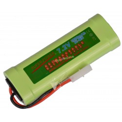 7.2V 3800mAh Ni-Mh rechargeable battery pack RC