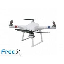 SkyArtec Free X multi copter V2.0 RTF with aluminum case