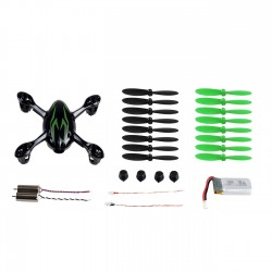 Hubsan X4 H107C/D Quadcopter Crash Pack
