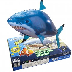 Remote Control RC Inflatable Balloon Air Swimmer Flying Shark