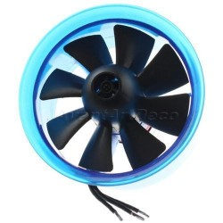 70mm EDF Power Ducted Fan with HL7008 3900KV Brushless Motor
