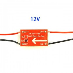 Ultralight UBEC-3A 12V Reduction Voltage Module BEC 2-6S