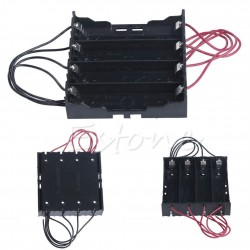 Plastic Battery Holder Storage Box Case For 4x 18650
