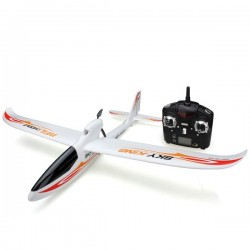 F959 Sky King 2.4G 3CH 750mm Wingspan RC Airplane With Led RTF