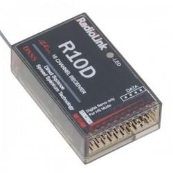 RadioLink R10D 2.4GHz 10CH DSSS Receiver For AT10
