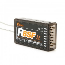CORONA R8SF S-FHSS 2.4G 8CH Compatible Receiver for Fuataba
