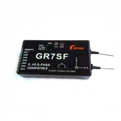 CORONA 2.4G 7CH GR7SF S-FHSS Compatible Receiver With