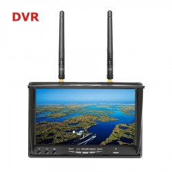 LCD5802D 5.8G 40CH Reciever 7 Inch Monitor FPV with DVR