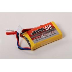 Rhino 610mAh 2S 7.4v 20C Lipoly Pack