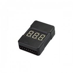 BX100 Battery Tester Low Voltage Alarm Buzzer For 1~8S Lipo