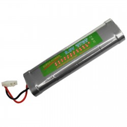 9.6V 3800mAh Ni-MH Rechargeable Battery Pack SC Super Power