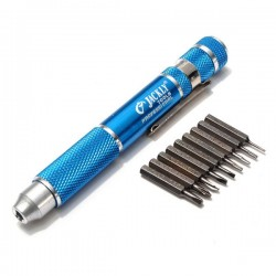 JACKLY 9 in 1 Electronics Repair Tools Precision Screwdriver Kit