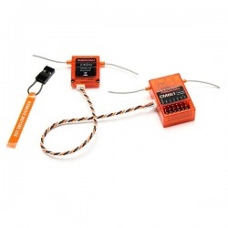 REDCON 2.4G 6CH CM651 DSM2 DSMX Compatible Receiver With Satellite