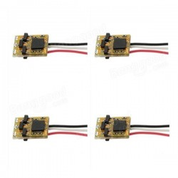 4 PCS Racerstar A1S 3A Blheli 1S Super Mini Brushless ESC 12*8.5*4mm