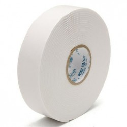 5M White Strong Double-Sided Tape Wall Mounting Foam Tape 24mm