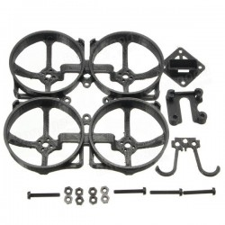 Mini Brushless 82mm Frame Kit Black White PLA Meterial 25g