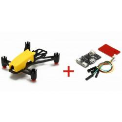Kingkong Q100 100mm DIY Micro FPV Quadcopter Frame Kit + NZ32 Micro Brushed Flight Control