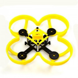 PCW100 100mm Carbon Fiber Brushless FPV Racing Frame with Camera Mount Propeller Guard
