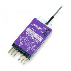 Cooltech RFA04A 2.4G 4CH FASST Compatible Receiver for 6EX T8FG T10C 14SGT12FG T14MZ