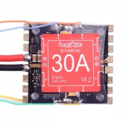 Racerstar Star30 30A Blheli_S 2-5S 4 In 1 Detachable ESC Support Dshot600 Ready for Racing Drone