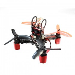 WX110 (A) 110mm X structure 1.5mm Brushless Carbon Fiber Frame Kit