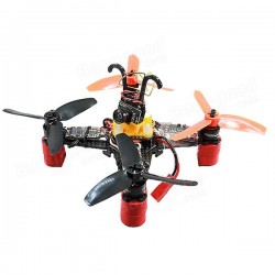 WX110 (B) 110mm X structure 1.5mm Brushless Carbon Fiber Frame Kit