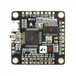 Matek F405-OSD BetaFlight STM32F405 Flight Controller Built-in OSD Inverter for SBUS Input