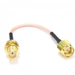 60mm Low Loss Antenna Extension Cord Wire Fixed Base for Antenna SMA
