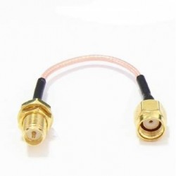 60mm Low Loss Antenna Extension Cord Wire Fixed Base for Antenna RP-SMA