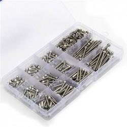 Suleve™ M3SS2 M3 Stainless Steel Allen Bolt Nut Hex Socket Cap Screw Assortment Kit 440pcs