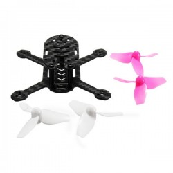 Realacc lollipop75 75mm Carbon Fiber Frame with 2 Pairs 40mm 3-blade Propeller Support 0703 Motor