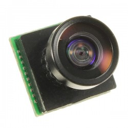 600TVL 2.8mm Lens 1/4 CMOS 110 Degree Wide Angle PAL FPV Camera