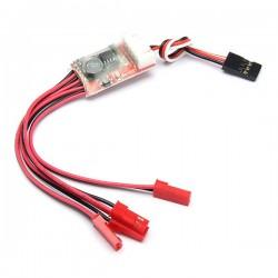 Night Flight LED Light Strips Controller Converter For 6S LiPo Battery