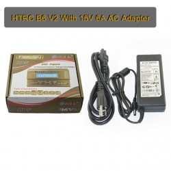 HTRC IMAX B6 V2 80W 6A Digital RC Balance Charger discharger for LiHV with 15V 6A AC
