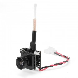 Eachine TX04 PAL Super Mini Light AIO 5.8G 40CH 25MW VTX 700TVL 120° Wide Angle FPV Camera