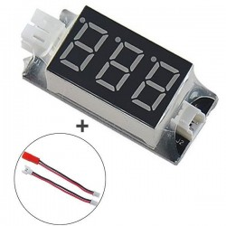PH2.0 PH1.25 Voltage Checker Display Tester For Eachine E010 E010S Blade Inductrix Tiny Whoop