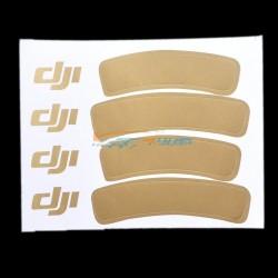 DJI Golden Decal Stickers DJI Phantom 3 Universal Housing Decorate Identifying Sticker for Phantom 1/2/3 Accessories